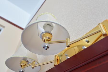 bedside lamps: closeup shot of lamp