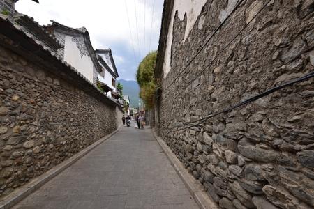 Alley in the village