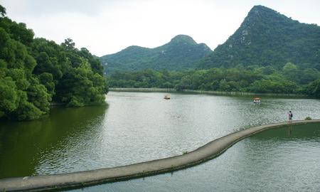 magnificent mile: lake view, liuzhou