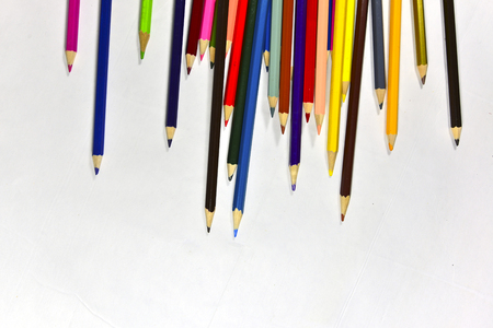 divergence: Colored lead pencils, launch, divergence, creative, design