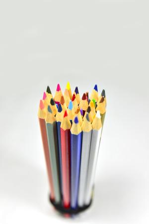 divergence: color pencils