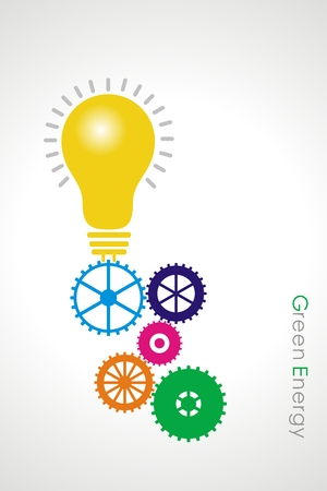 renewable resources: Green energy concept with Sustainable resources,