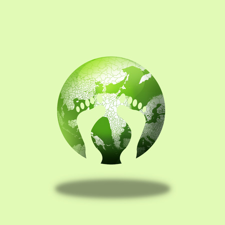 Around the world,environmental concept of earth