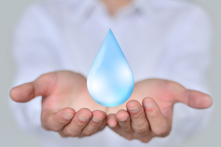 aide: Save Water Water Concept
