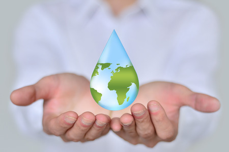 Save Water Water Concept