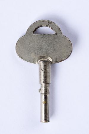 skeleton key: Skeleton key on a white background