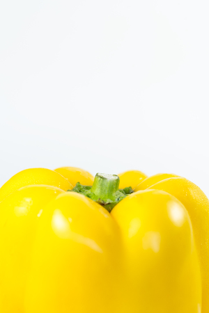 bell pepper: Yellow bell  pepper
