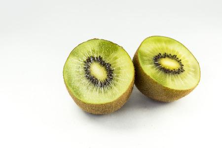 cutted kiwi Stock Photo