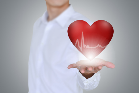 heart health: Health and medical  heart disease concept
