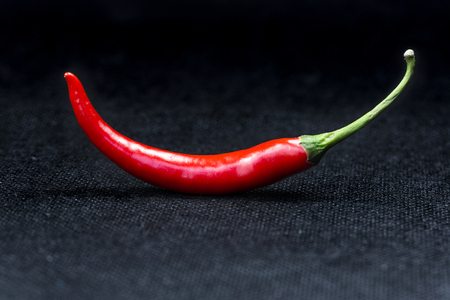 A close-up of a red pepper Stock Photo