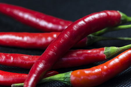 Red pepper feature Stock Photo