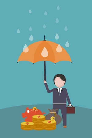 The merchant protection concept of money under an umbrella