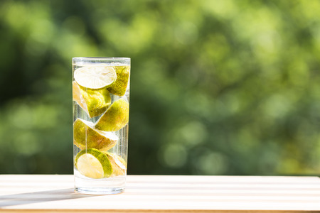 liquid state: lemonade