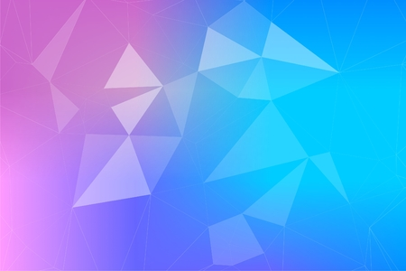 Abstract background of polygon molecular geometry