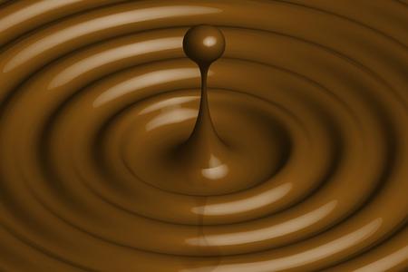 chocolate drops: Chocolate drops