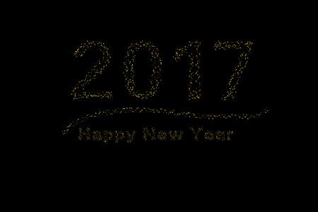 2017 happy new year 矢量图像
