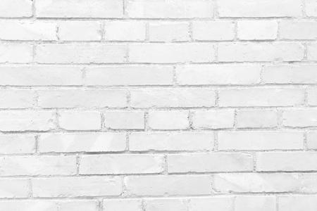 White brick background texture