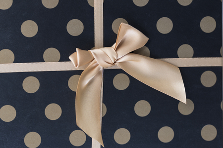 upscale: gift box with the ribbon