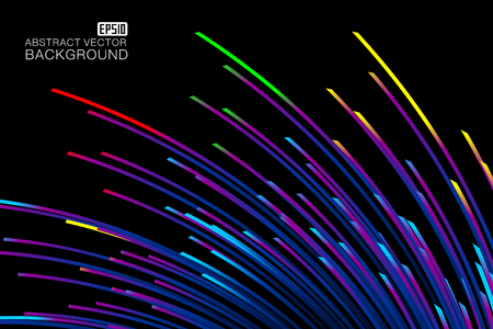 An abstract   background map consisting of colored lines