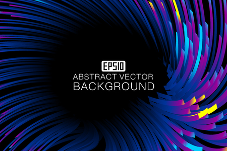 An abstract  background map consisting of colored lines Stock Vector - 83599494