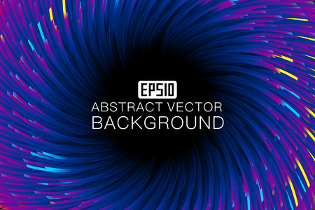 An abstract  background map consisting of colored lines Stock Vector - 83599501