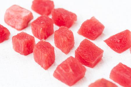 granule: Watermelon Stock Photo