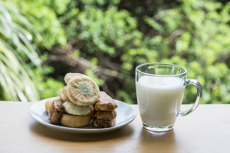 simple life: biscuits and a cup of soybean milk