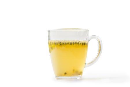 passion fruit flower: Passion fruit juice