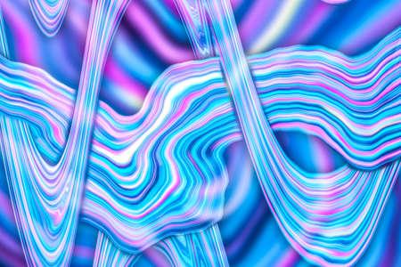 Fantasy color creative wallpaper, holographic metal foil texture background.