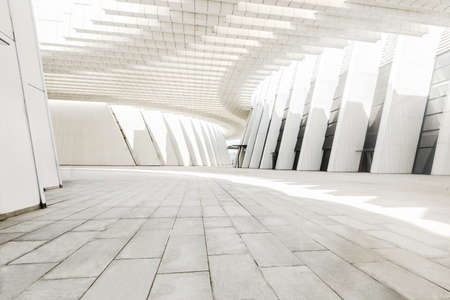 Guangxi Art Center perspective space line structure. 新聞圖片