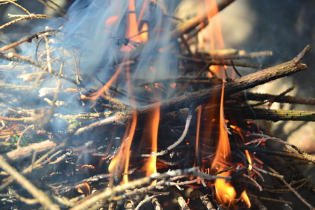barbecues: ignition and ignition of wood barbecues