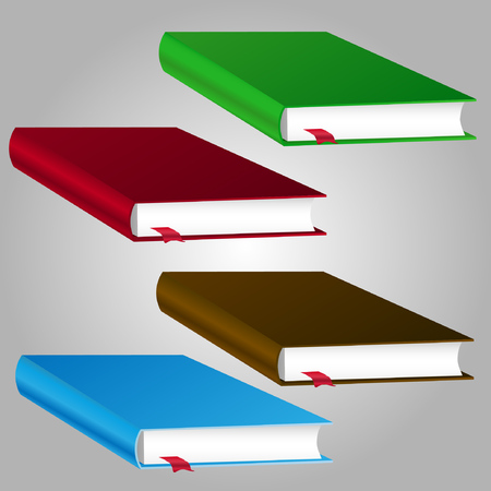 book vector illustration