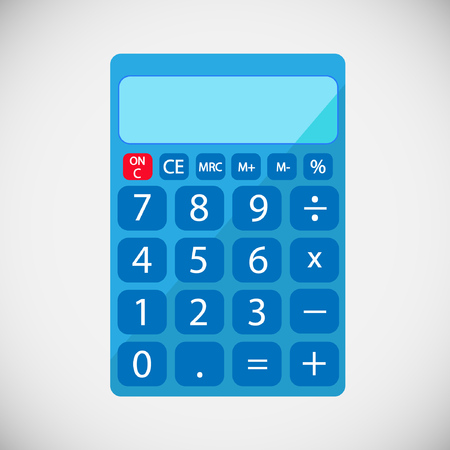 Calculator vector illustratie