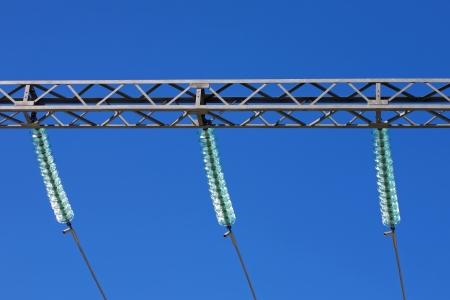 Electric insulators Stock Photo - 13785037