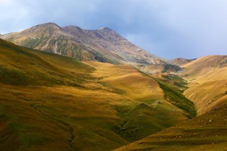 Mountain valley Stockfoto