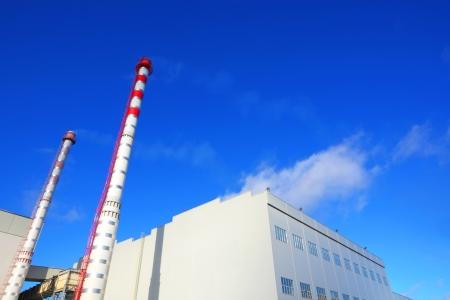 Factory building Standard-Bild
