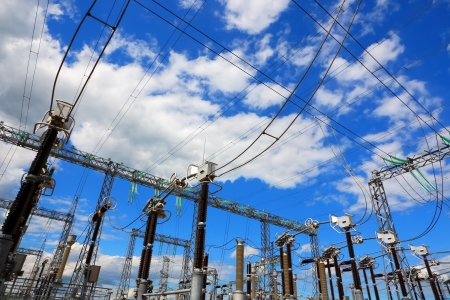 Electric substation Stock Photo - 16722099