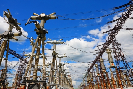 Electric substation  Stock Photo - 17853704
