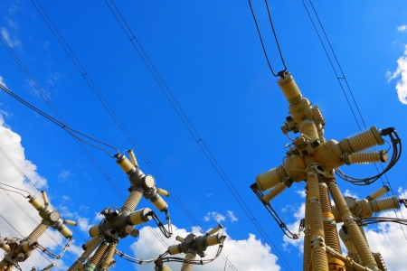 three phase: High-voltage industrial electric equipment