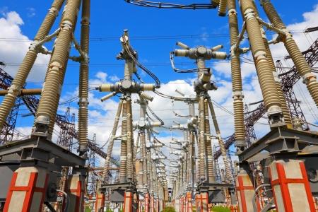 Uitrusting van hoge-voltage elektrische onderstation