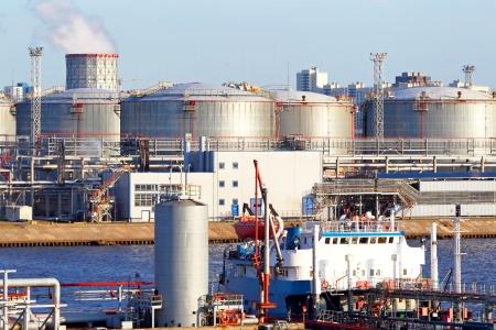 Oil business Standard-Bild