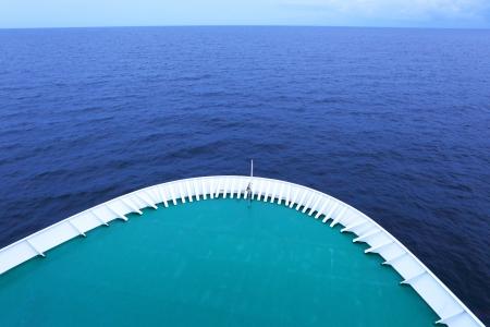 The ship in the sea