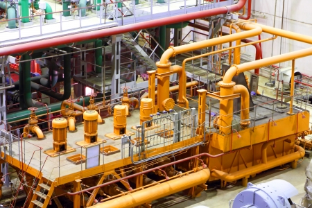 Power plant interior photo