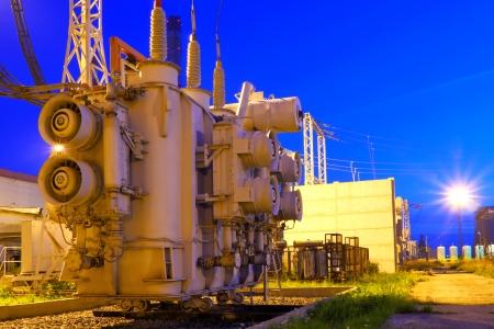 Electricity generation Stock Photo