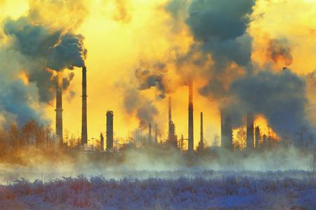 La pollution de l'environnement