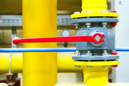 Gas pipeline of a high pressure  photo