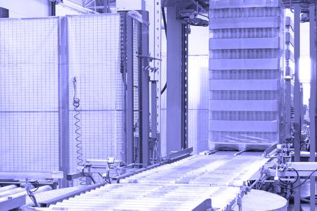 Ð¡onveyor line at factory