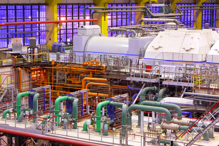 Power plant interior