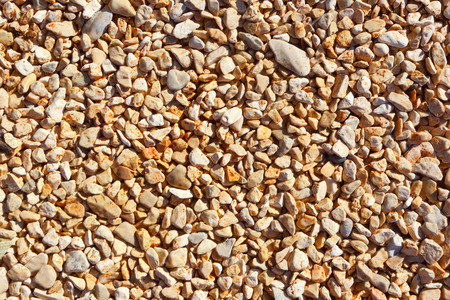 Pebble beach. Abstract background of stones.