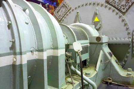 Power generator steam turbine Standard-Bild